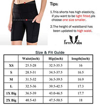 "Load image into Gallery viewer, FIRM ABS Women's 4""/8"" High Waist Workout Yoga Shorts Half Tights Tummy Control"