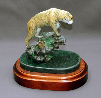 Bronze The Prowler Sculpture Art Limited Edition - sculptin.com