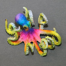 "Load image into Gallery viewer, Octopus Bronze Sculpture ""Oliver Octopus"" Figurine Statue Aquatic Art - sculptin.com"