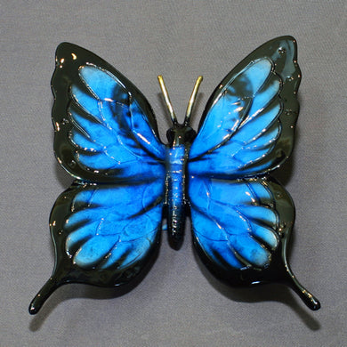 Butterfly Bronze Statue Figurine Insect Art Limited Edition