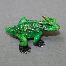 Load image into Gallery viewer, Bronze ''Horned Toad'' Sculpture Art / Limited Edition Signed & Numbered / Gorgeous! - sculptin.com