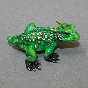 Bronze ''Horned Toad'' Sculpture Art / Limited Edition Signed & Numbered / Gorgeous! - sculptin.com