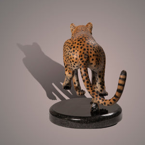 "Bronze Sculpture ""The Cheetah"" Amazing Detail!!! Limited Edition SCULPTURE - sculptin.com"