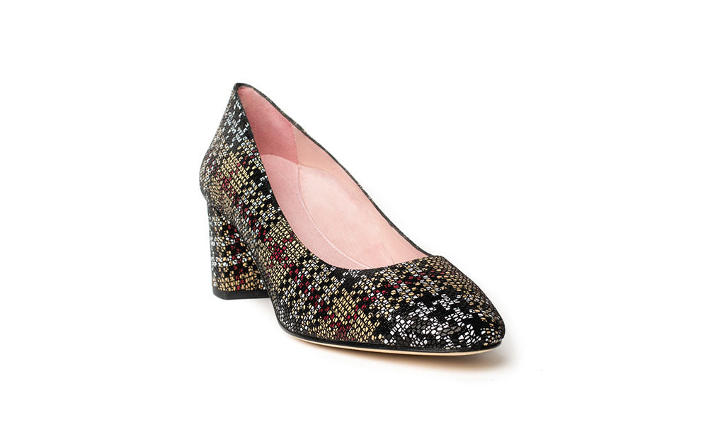Comfortable Houndstooth Print Shoes
