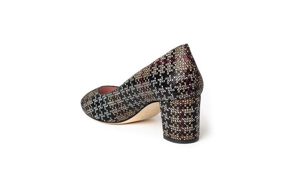Buy Luxury Houndstooth Print Shoes