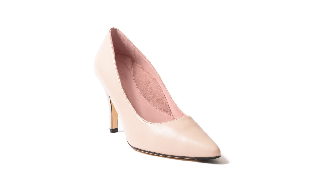 Comfortable Light Pink Heels