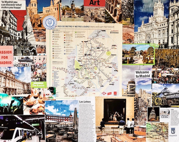 Madrid Collage   One Year Ago Today: My Life in Spain   Julieta