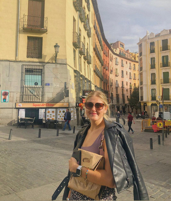 The author in Spain   One Year Ago Today: My Life in Spain   Julieta