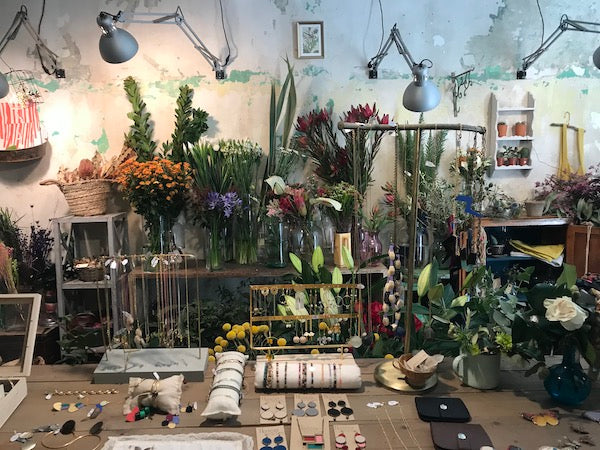A flower shop and jewelry store.   One Year Ago Today: My Life in Spain   Julieta