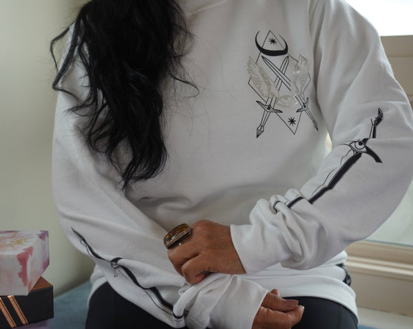 Holographic TOF Crewneck - Threads of Fate