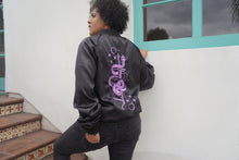 Load image into Gallery viewer, Snake + Dagger Bomber Jacket - Threads of Fate