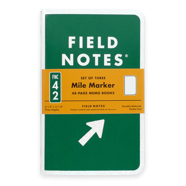 Field Notes Mile Marker Notesbog