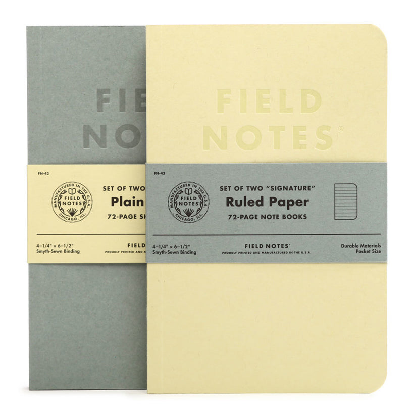 Field Notes Signature Notesbog