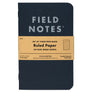 Field Notes Pitch Black Notesbog 3-pak