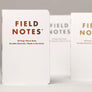 Field Notes Group Eleven Notesbog 3-Pak