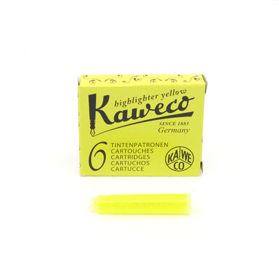 Kaweco Blækpatron til fyldepen - Highlighter Yellow