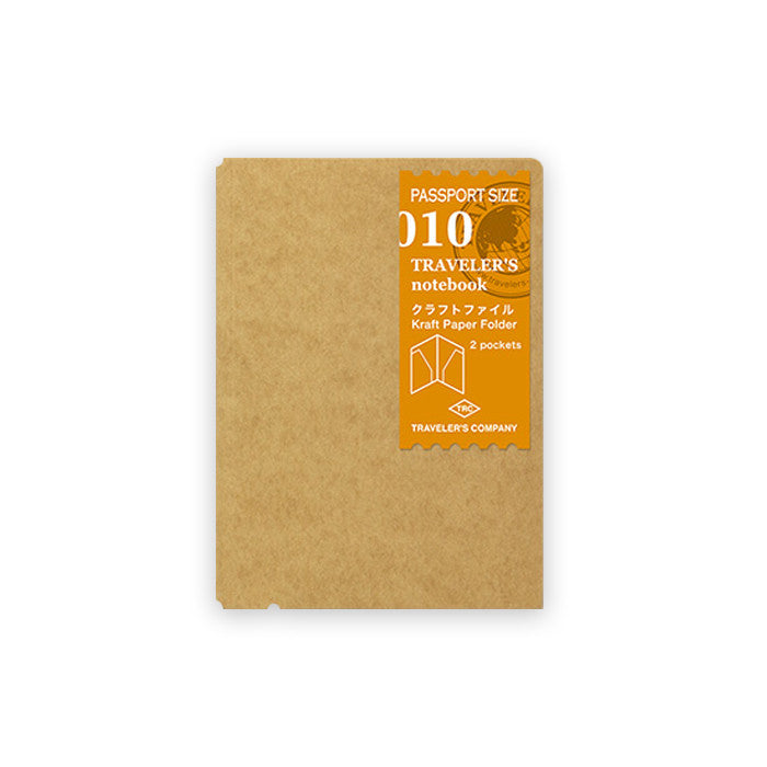 Traveler's Notebook Passport Size - Kraft File