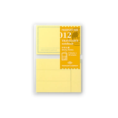Traveler's Notebook Refill Passport Size - Sticky Notes Folder