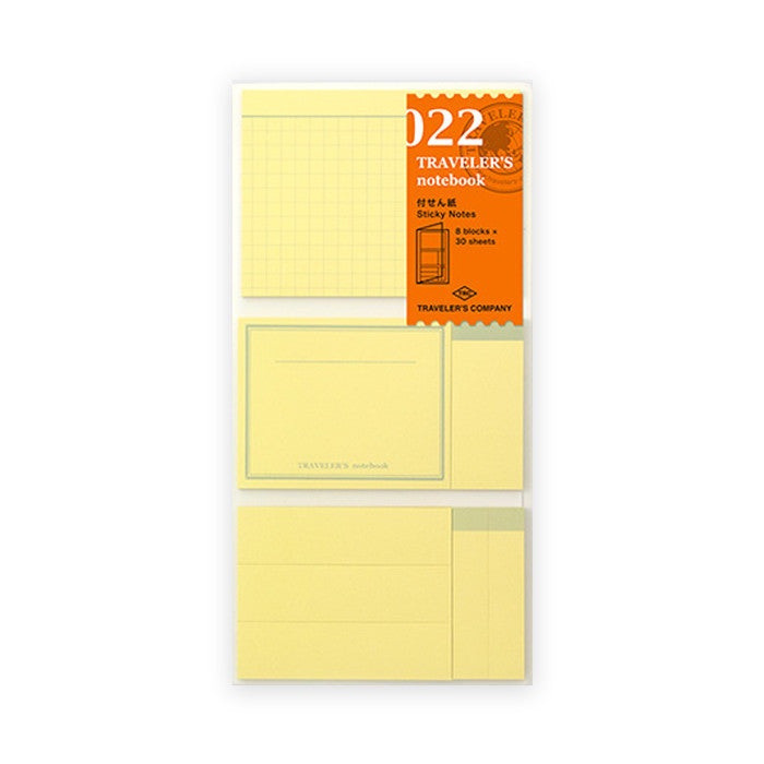 Traveler's Notebook Refill - Sticky Notes
