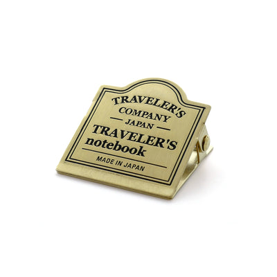 Traveler's Notebook Clip - Logo
