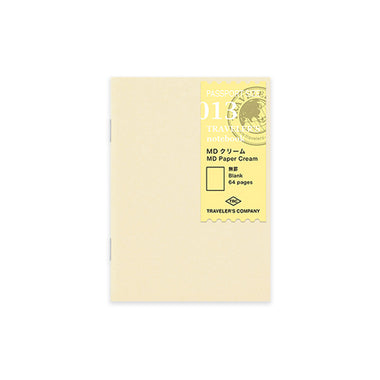 Traveler's Notebook Refill Passport Size - MD Paper Cream