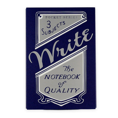 Write Notepads & Co. Notesbøger 3-pak