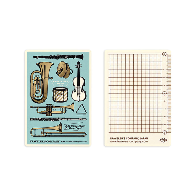 Traveler's Notebook Refill Passport Size - 2019 Underlay