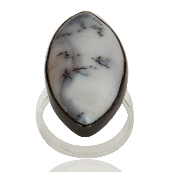 Dendritic Opal In Mixed Metal