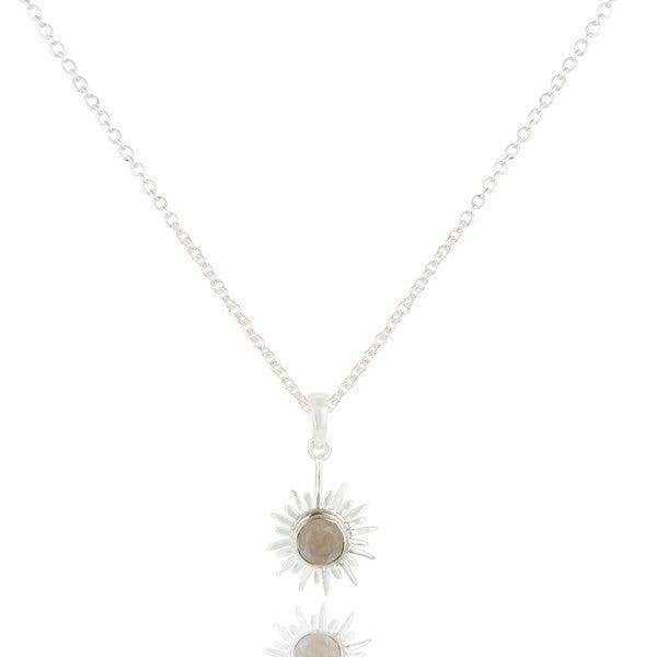 SOLEIL necklace in reclaimed sterling silver