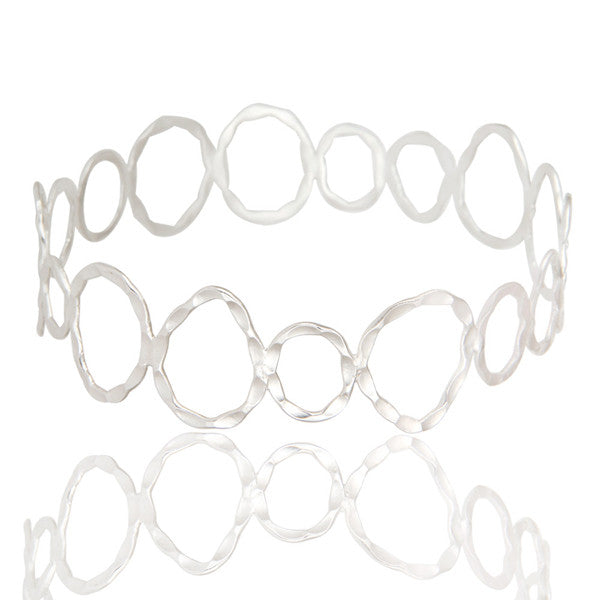 THE ROXY bangle in reclaimed sterling silver