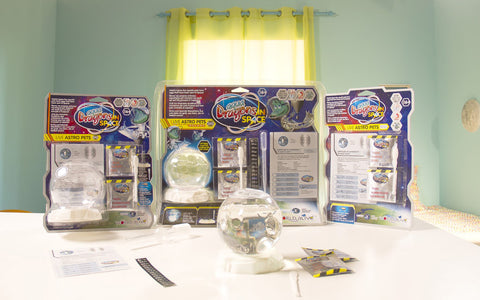 The Aqua Dragons in Space range of products