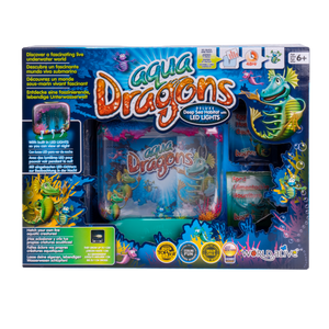Load image into Gallery viewer, Aqua Dragons Underwater World Deep Sea Habitat with LED lights