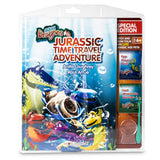 Book: Jurassic Time Travel with Special Edition Aqua Dragons kit