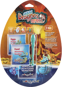 Aqua Dragons Jurassic Time Travel kit de recharge