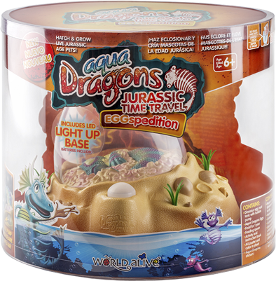 Aqua Dragons Jurassic Time Travel Eggspedition with LED lights
