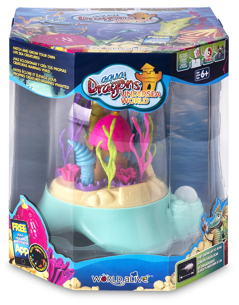 Load image into Gallery viewer, Aqua Dragons Sea Friends Underwater World tank with bubble pump