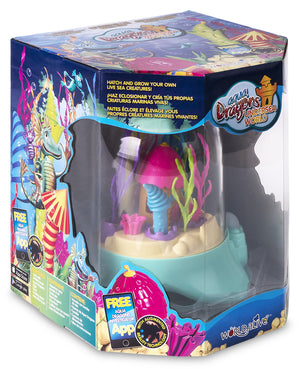 Aqua Dragons Sea Friends Underwater World tank with bubble pump