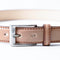 [Gloss Cordovan] <br>30mm belt<br>color: natural