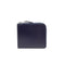[BOX calf] <br>Half L zip wallet<br>color:Navy