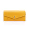 [French calf] <br>Flap long wallet<br>color: Yellow<br>[Order sales]