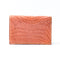 [Crocodile]<br>Through gusset card case<br>color: orange<br>[Order sales]
