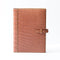 [Crocodile] <br>A5 notebook cover<br>color: orange