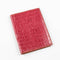 [Croco pattern leather] <br>B6 notebook cover<br>color: red