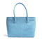 [French calf] <br>Medium tote bag<br>color: Aqua blue