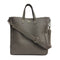 [Shrink leather]<br>Shoulder tote bag<br>color:Gray