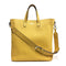 [Shrink leather]<br>Shoulder tote bag<br>color:Yellow