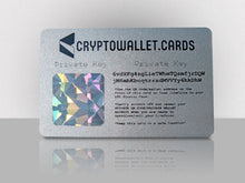 Load image into Gallery viewer, Litecoin Cold Storage Wallet Card - CryptoWallet.Cards