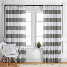 Load image into Gallery viewer, Stripes Curtain Panel - EK CHIC HOME