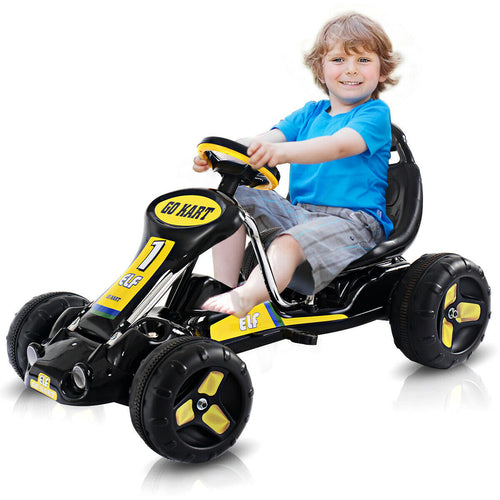 Kids Ride On Car Pedal Powered Car 4 Wheel Racer Toy