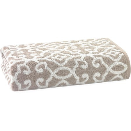 Thick and Plush Cotton Jacquard Bath Towel Collection - EK CHIC HOME